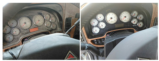Before & After Dash Board